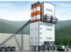 Trạm( tháp) trộn chuyên dùng cho công trình thủy lợi