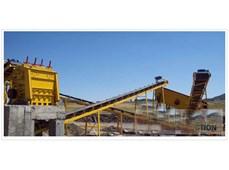 (80T/H---120T/H)   vật liệu đá cường độ vừa