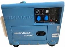 Máy phát điện chạy dầu giảm âm HUSPANDA HD6600
