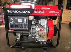 Máy phát điện chạy dầu Sumokama SK9500E