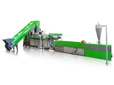 Dây chuyền máy tái chế hạt nhựa PP dệt PP PE