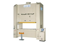 Máy dập khung H hai trục khuỷu CHIN FONG GTX-500