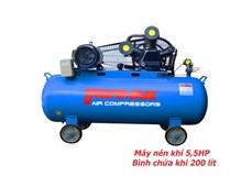 Máy nén khí 5,5HP Topmax V-0.65/12