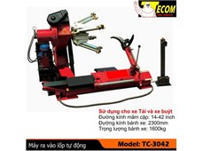 Máy ra vào lốp tự động Tecom TC-3042