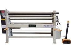 Máy lốc tôn bằng tay và điện RM 1550X90
