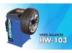 Máy cân bằng lốp xe Heshbon HW 103