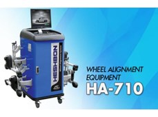 Máy kiểm tra góc đặt bánh xe công nghệ CCD Heshbon HA-710