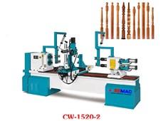 Máy tiện gỗ cnc 2 trục tự động CW-1520-2