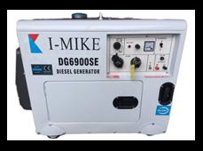 Máy phát điện diesel I-Mike DG6900SE (5kw cách âm thường)