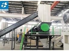 Dây chuyền giặt tái chế màng nhựa PE 500kg