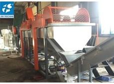 Dây chuyền giặt tái chế nhựa 800kg /h