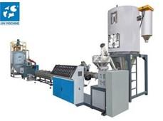 Máy tạo hạt tái chế nhựa 800kg/h JIN-75A
