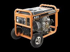 Máy Phát Điện AEG AGN5000DEB