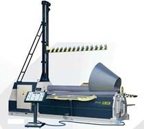Máy lốc tôn thủy lực 4 trục 4R HS 10-150