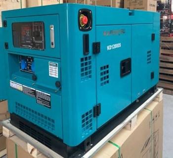 Máy phát điện chạy dầu giảm âm Kamastsu KD-12000S