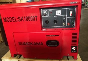 Máy phát điện chạy dầu Sumokama SK10000T
