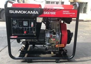Máy phát điện chạy dầu Sumokama SK6700E