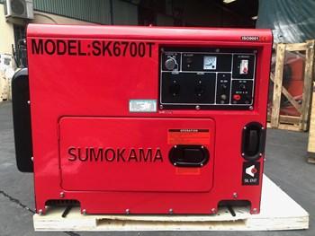 Máy phát điện chạy dầu Sumokama SK6700T