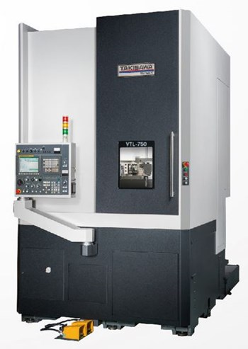 Máy tiện đứng CNC TAKISAWA VTL-750