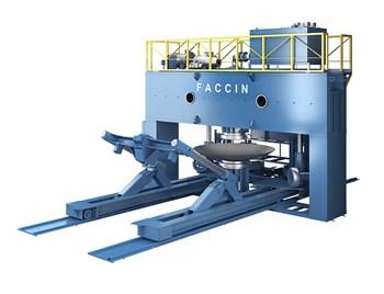 Máy ép tự động thủy lực Faccin PPM + MA