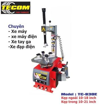 Máy ra vào lốp xe tay ga Tecom TC-830E