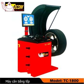 Máy cân bằng lốp Tecom TC-1800