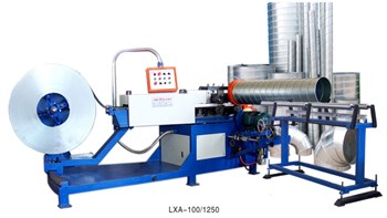 Máy lốc ống gió tròn xoắn LXA-100/1250A