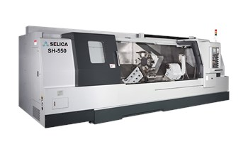 Máy tiện CNC 2 trục Selica SH-550