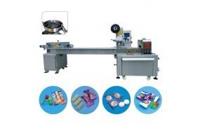 Máy đóng gói kẹo viên dạng nằm 1 mâm cấp liệu tự động PRO-1000A