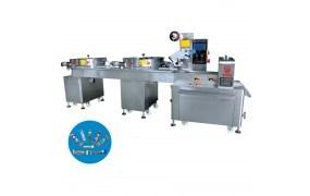 Máy đóng gói kẹo viên dạng nằm 2 mâm cấp liệu tự động PRO-1000B
