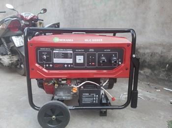 Máy phát điện chạy xăng Tomikama HLC 6800s có đề