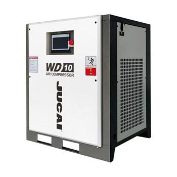 Máy nén khí trục vít biến tần Jucai WD10