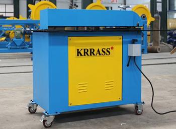 Máy cắt và cườm cuộn kim loại Krrass LQ-15
