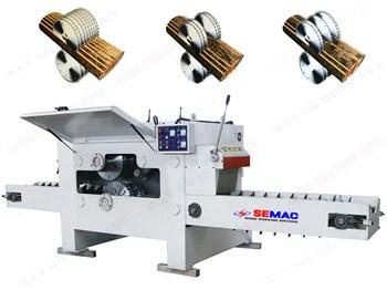 Máy cưa xẻ gỗ hình tròn nhiều lưỡi SEMAC SM-MJY142-40
