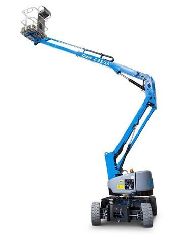 Xe nâng người dạng khớp gập chạy điện Genie Z 33/18