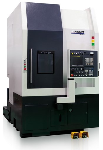 Máy tiện đứng CNC Takamaz VTL-450