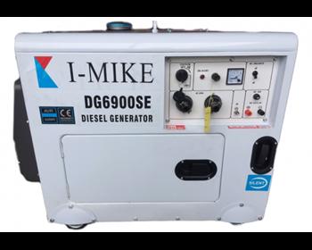 Máy phát điện dầu Diesel I-Mike DG6900SE (5kw siêu cách âm)