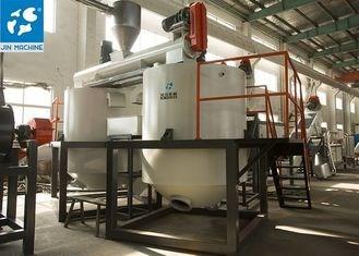 Dây chuyền rửa tái chế nhựa PET 1500kg