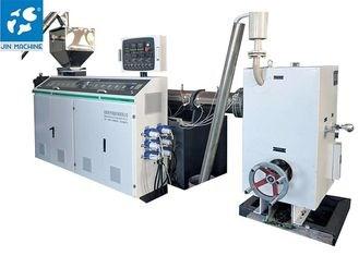 Dây chuyền sản xuất dây đai nhựa xoắn đôi 350kg /h cho dây đai đóng gói