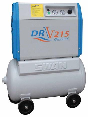Máy nén khí không dầu Swan DRV-215 (50HZ)