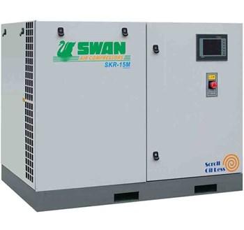 Máy nén khí không dầu Swan SKR-15M