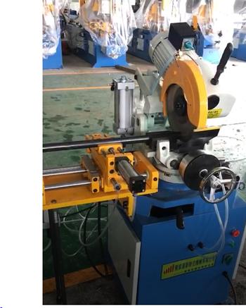 Máy cắt kim loại bán tự động OKASU MC-325