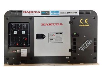 Máy Phát Điện Chạy Dầu 12Kw Hakuda HKD 12000E