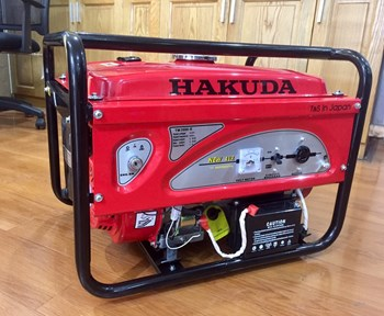 Máy Phát Điện Chạy Xăng 3Kw Hakuda TM3500E Đề