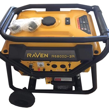 Máy Phát Điện Chạy Xăng 5Kw Raven R6800D-3A Đề