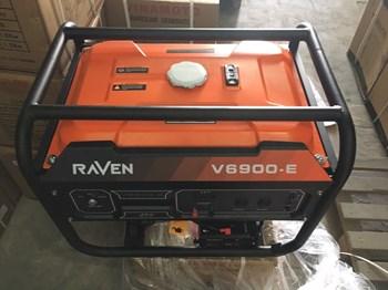 Máy Phát Điện Chạy Xăng 5Kw Raven V6900-E Đề